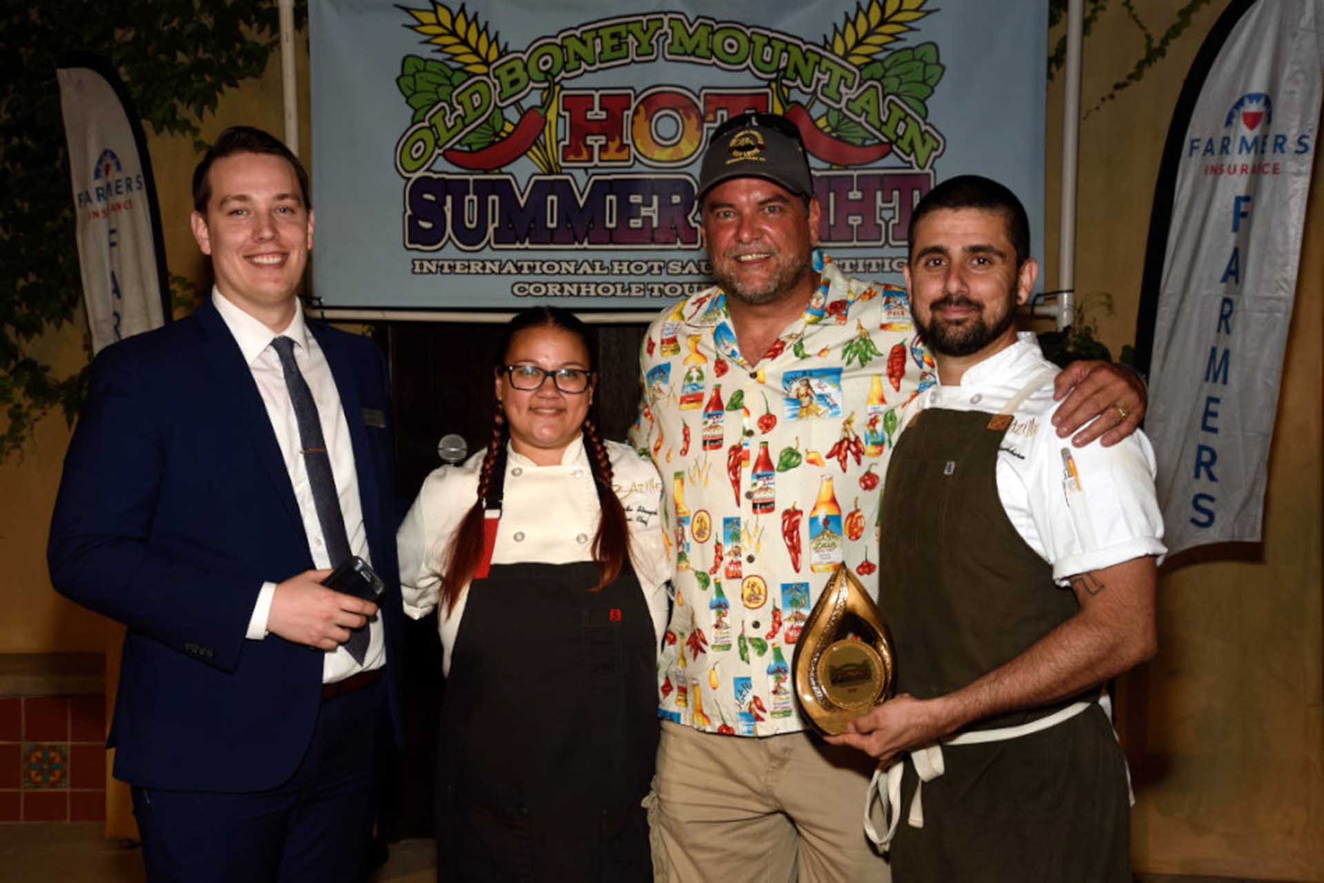 Bazille chef wins award