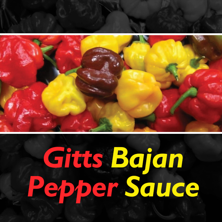 Gitts Bajan Pepper Sauce