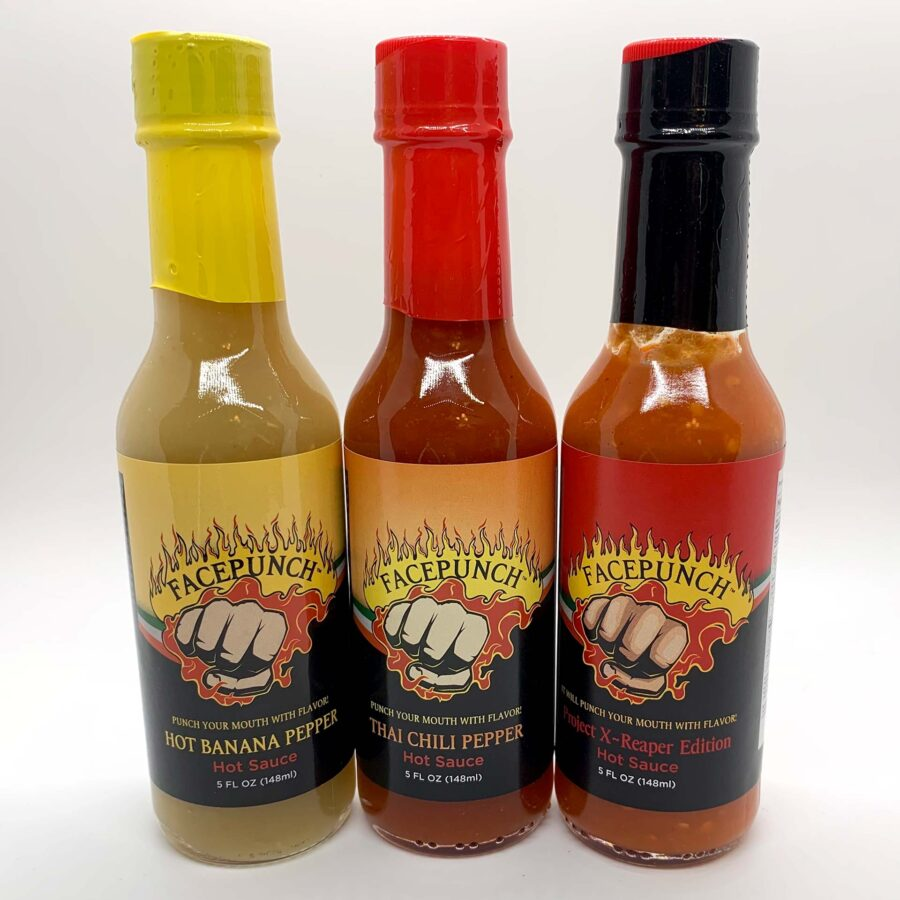 Facepunch Foods Hot Sauce & Dry Rubs